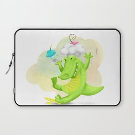 Slippery gator Laptop Sleeve