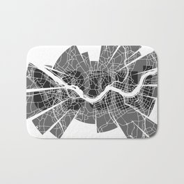 Seoul Map Bath Mat