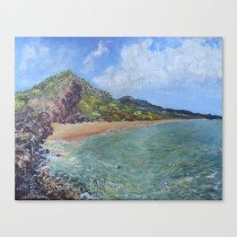 Big Beach Canvas Print