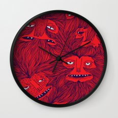 Hairwolves Wall Clock