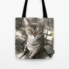 A Cat That I Once Knew Tote Bag