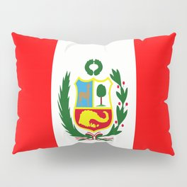Flag of Peru Pillow Sham