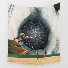 Catch the Wormhole of 3:45 PM Wall Tapestry