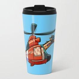 US Coast Guard Giraffe Travel Mug