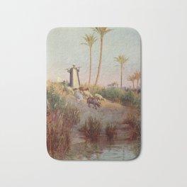 Kelly, Robert Talbot (1861-1934) - Egypt 1903, By still waters Bath Mat