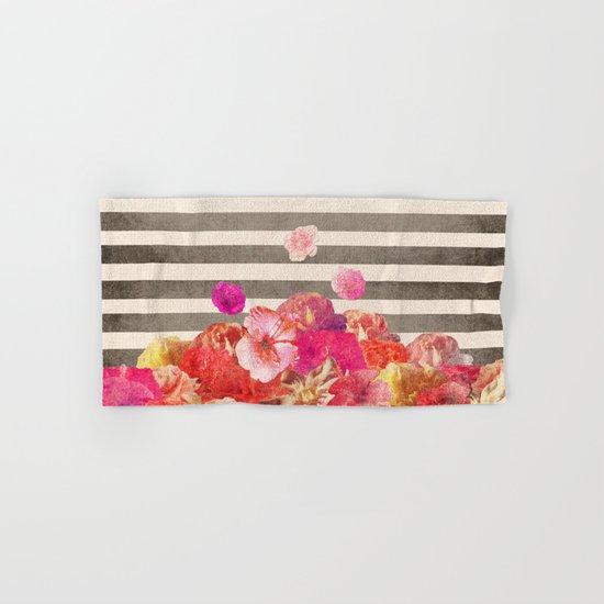 Vintage Floraline Hand & Bath Towel
