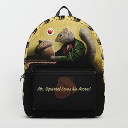 Mr. Squirrel Loves His Acorn! Backpack