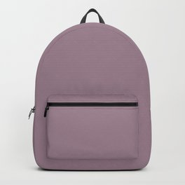 Solid Color Series - Desaturated Magenta Backpack