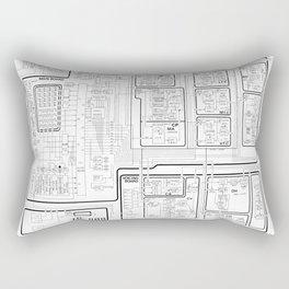 Roland 808 Circuit Rectangular Pillow