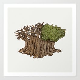 Legendary Tree Art Print