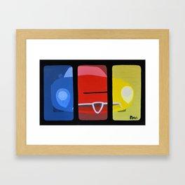alfaromeo sport Framed Art Print