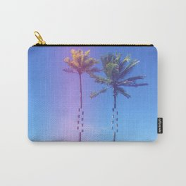 Fragmented Palm Carry-All Pouch