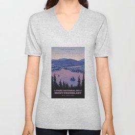 Parc National du Mont-Tremblant Unisex V-Neck