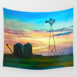 Amarillo by Morning Wall Tapestry