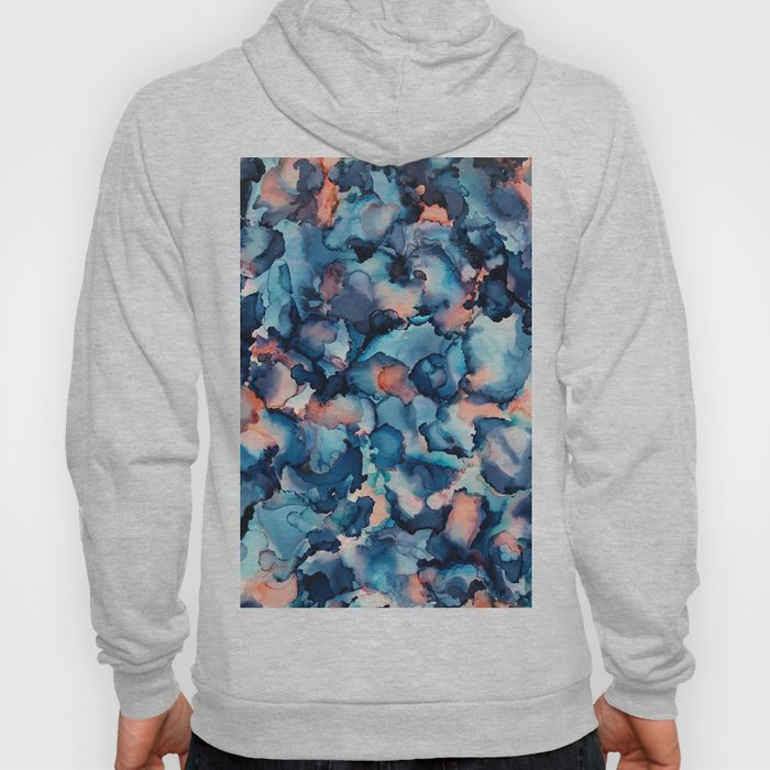 Alcohol Ink Painting 1 Hoody