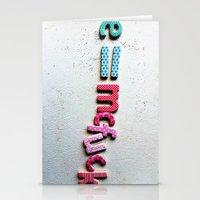 einstein Stationery Cards featuring einstein by Ez McBot