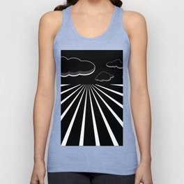 Dark Sky on the Horizon Unisex Tank Top