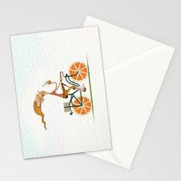 Orange Stationery Cards