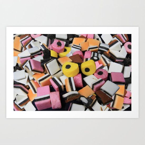Sweets Candy cases Art Print