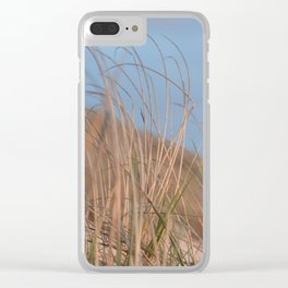 Dune Grass Clear iPhone Case