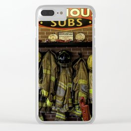 Appreciation To Our Heros Clear iPhone Case