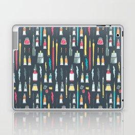 Addicted to Art supplies pattern Laptop & iPad Skin