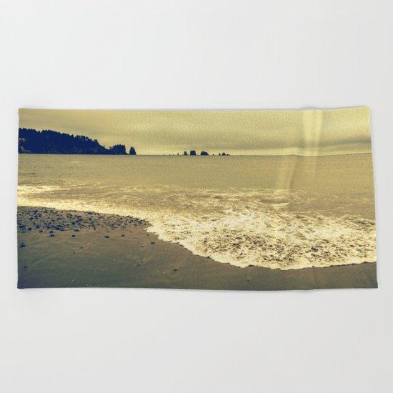 Twilight Beach Beach Towel