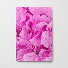 A Bunch of Pretty Pink Flowers Metal Print