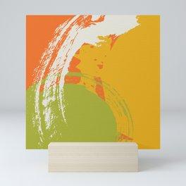 Colorful Brush Strokes AP176-8 Mini Art Print