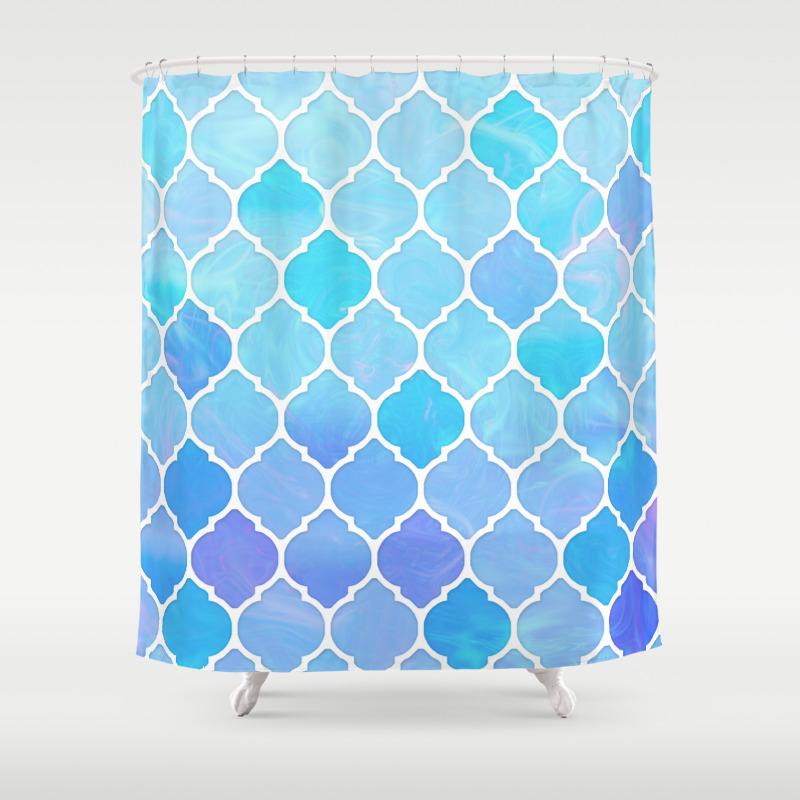 Blue moroccan curtains - Blue Moroccan Curtains