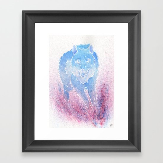 Wild Run Framed Art Print