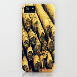 Cigars iPhone Case