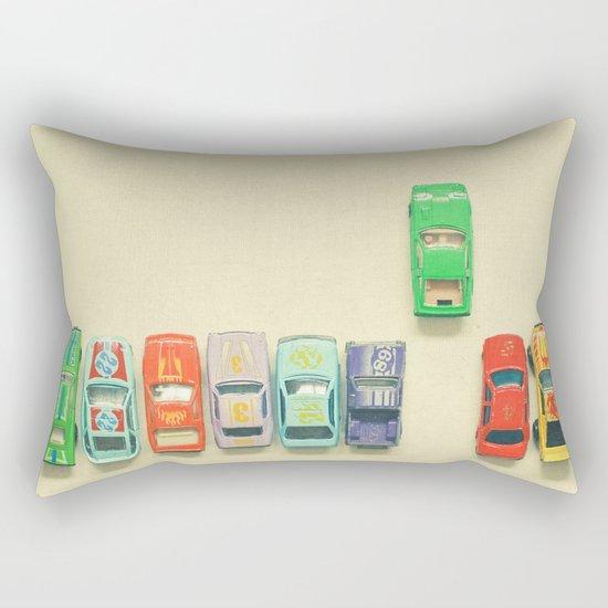 False Start Rectangular Pillow