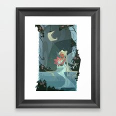 The Serenity Line Framed Art Print