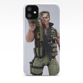 iPhone 11 Pro Max Schwarzenegger Rocket camera iPhone Case