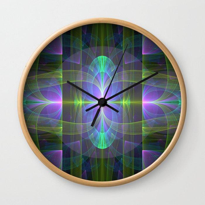 Alien Birth 1 Wall Clock