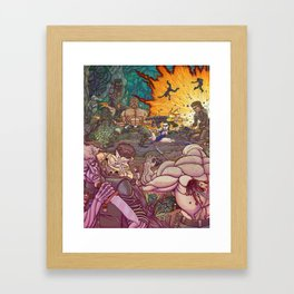 Lethal Explosion 3: Maximum Lethality Framed Art Print