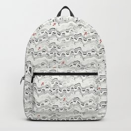 Wavy Musical Pattern Backpack