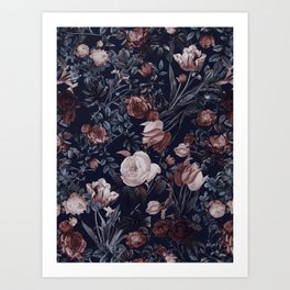 Night Forest XXV Art Print
