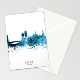 Leeds England Skyline Stationery Cards