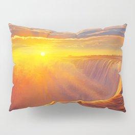 Sunlight waterfall Pillow Sham