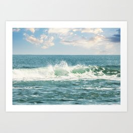 Atlantic Wave Art Print