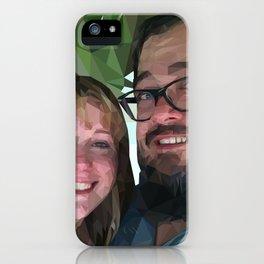 Camilea & John iPhone Case
