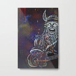 Vikingz Metal Print