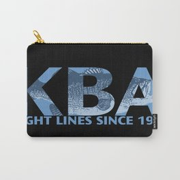 Tight Lines Dark Carry-All Pouch