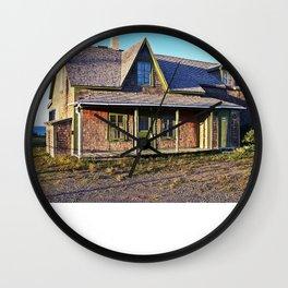Rustic Homestead Wall Clock