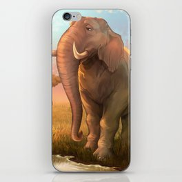 Elephant of the Serengeti iPhone Skin