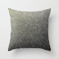 mosaic Throw Pillows featuring Mosaic by David Zydd
