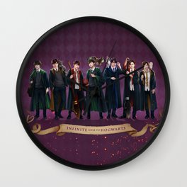 Infinite goes to Hogwarts Wall Clock