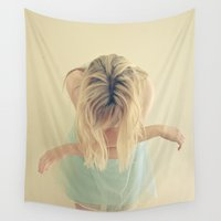 fly Wall Tapestries featuring Fly by Cassia Beck